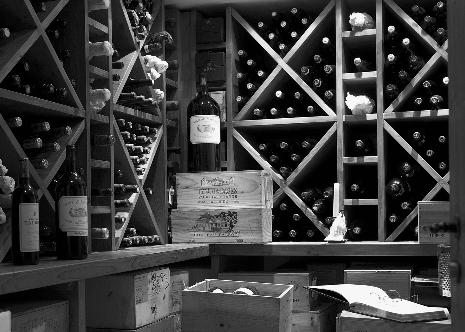 Fine wines between investment and collecting